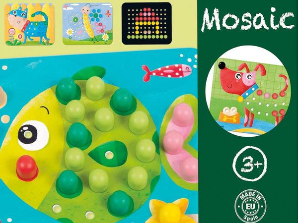 Bild zu Alle Brettspiele-Spiel Mosaik Tiere