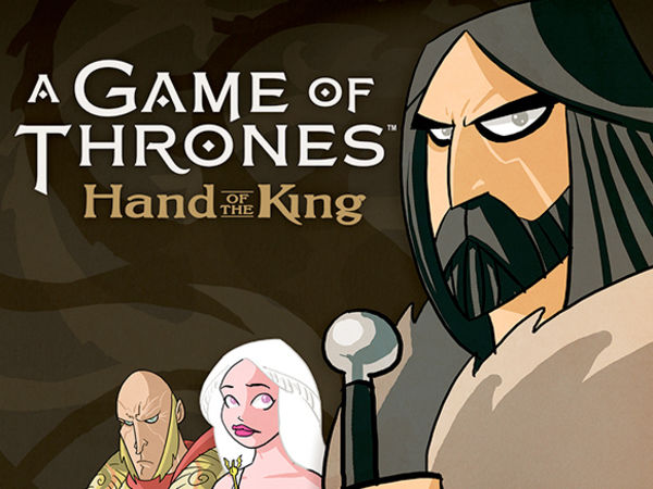 Bild zu Alle Brettspiele-Spiel A Game of Thrones: Hand des Königs