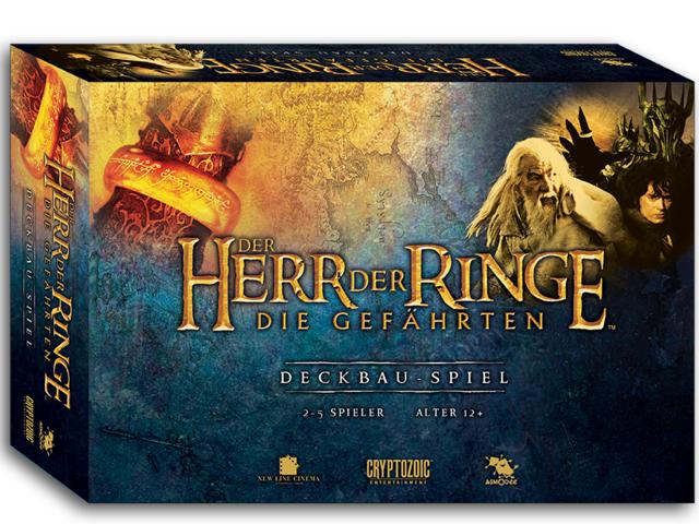 Der Herr der Ringe - Die Gefährten: Deckbau-Spiel Bild 1