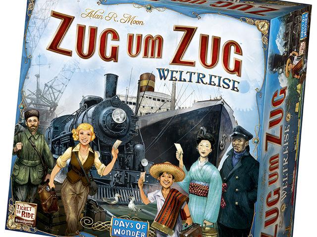 Zug um Zug: Weltreise Bild 1