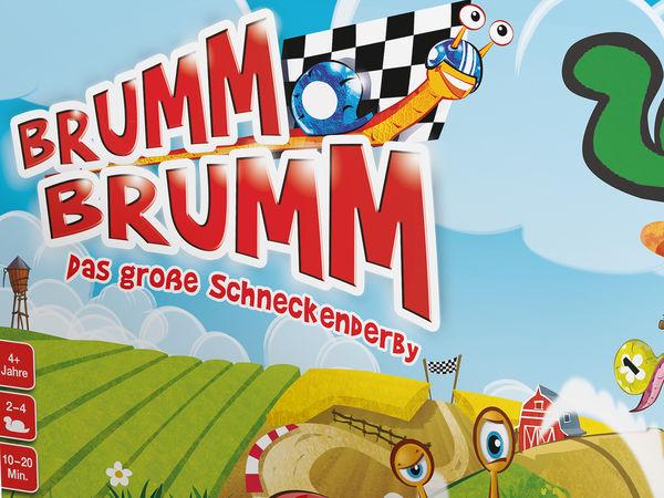 Bild zu Alle Brettspiele-Spiel Brumm Brumm: Das große Schneckenrennen