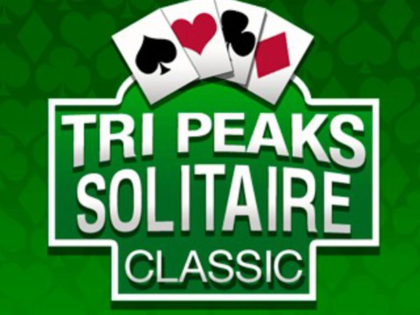 Bild zu Karten & Brett-Spiel Tri Peaks Solitaire Classic