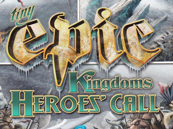 Bild zu Alle Brettspiele-Spiel Tiny Epic Kingdoms: Heroes' Call Deluxe Edition
