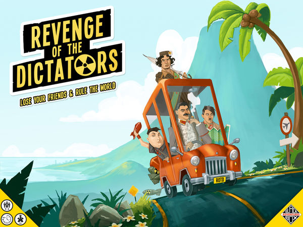 Bild zu Alle Brettspiele-Spiel Revenge of the Dictators