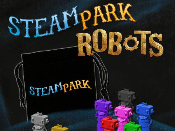 Bild zu Alle Brettspiele-Spiel Steam Park: Robots