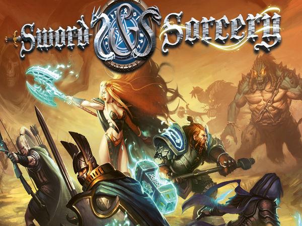 Bild zu Alle Brettspiele-Spiel Sword & Sorcery