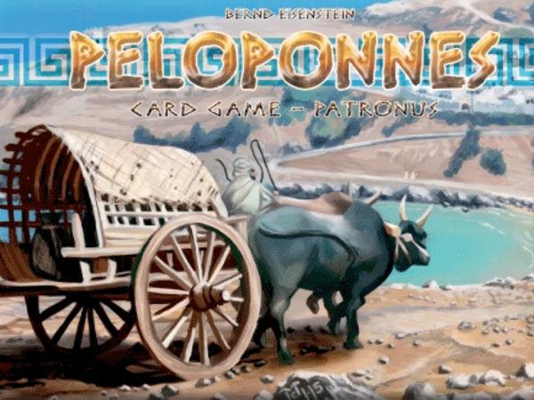 Bild zu Alle Brettspiele-Spiel Peloponnes Kartenspiel: Patronus