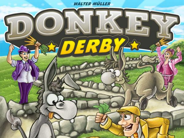Bild zu Alle Brettspiele-Spiel Donkey Derby
