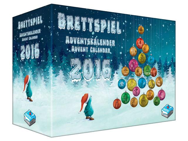 Brettspiel-Adventskalender 2016 Bild 1