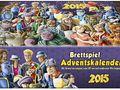 Brettspiel-Adventskalender 2015 Bild 1