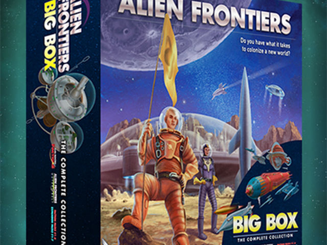 Alien Frontiers Big Box Bild 1