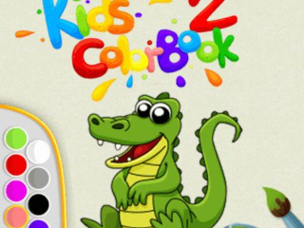 Bild zu Kinder-Spiel Kids Color Book 2