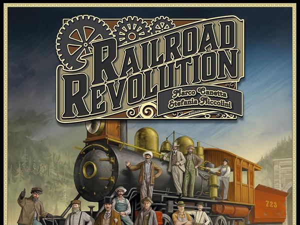 Bild zu Alle Brettspiele-Spiel Railroad Revolution