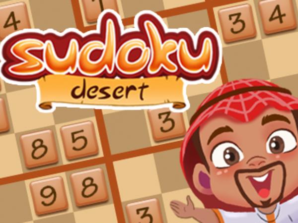 Bild zu Denken-Spiel Desert Sudoku
