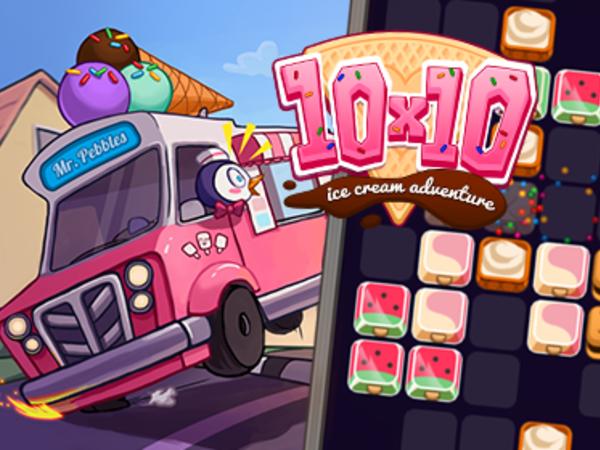 Bild zu Denken-Spiel 10x10 Ice Cream Adventure