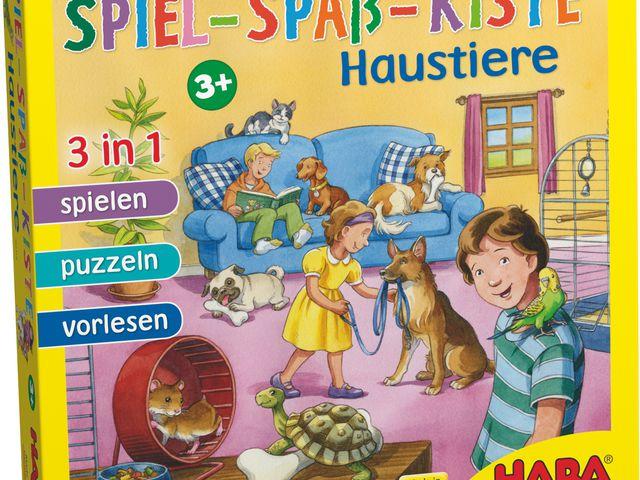 Spiel-Spaß-Kiste: Haustiere Bild 1