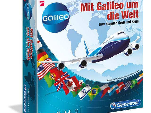 Mit Galileo um die Welt Bild 1