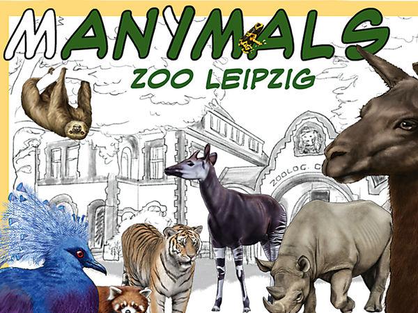 Bild zu Alle Brettspiele-Spiel Manimals: Zoo Leipzig