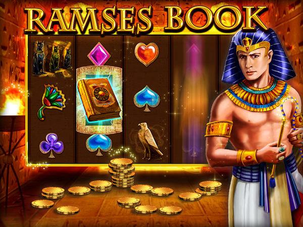 Bild zu Jackpot-Spiel Ramses Book