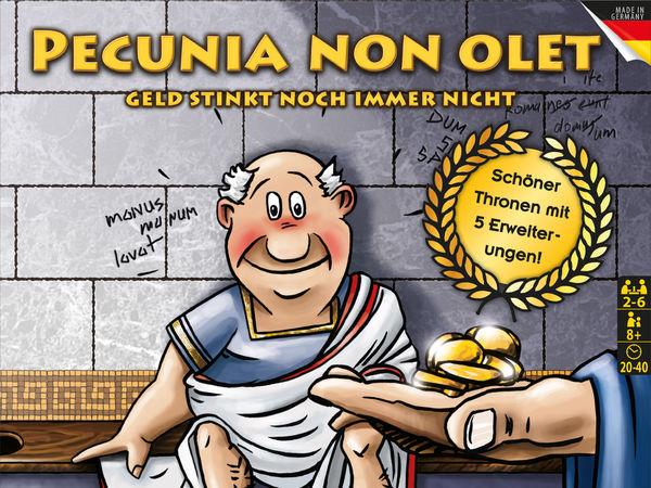 Bild zu Alle Brettspiele-Spiel Pecunia non olet: Geld stinkt noch immer nicht