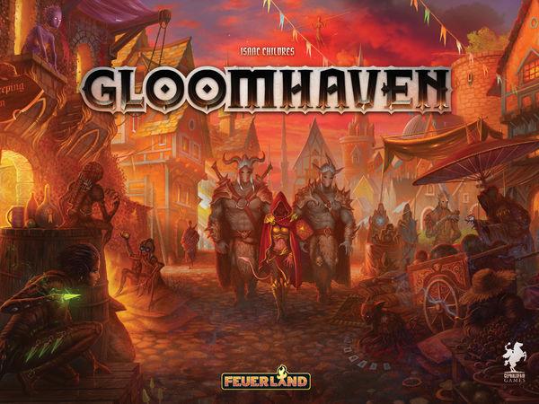 Bild zu Alle Brettspiele-Spiel Gloomhaven
