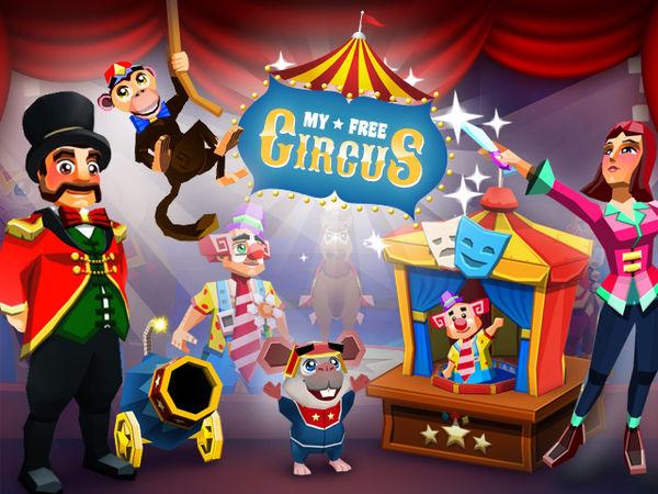 Bild zu Sport-Spiel My Free Circus