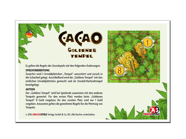 Cacao: Großer Markt & Goldener Tempel Bild 1