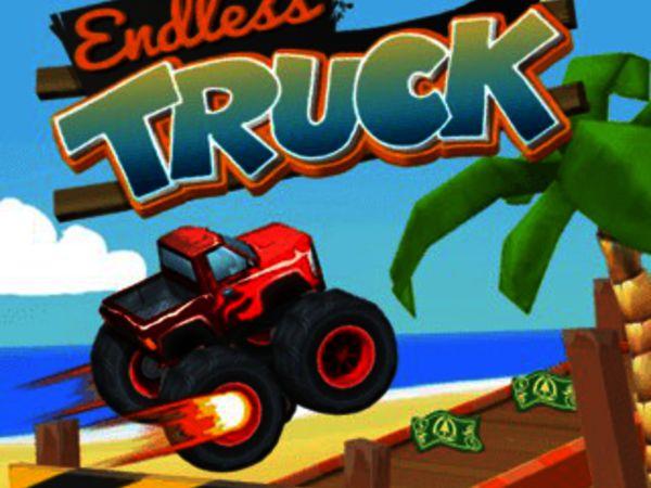 Bild zu Rennen-Spiel Endless Truck