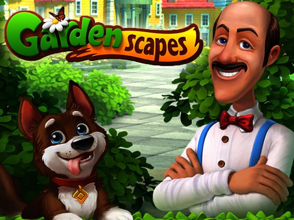 Bild zu Strategie-Spiel Gardenscapes