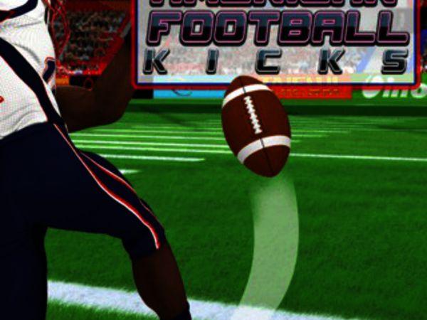 Bild zu Sport-Spiel American Football Kicks