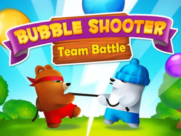 Bild zu Denken-Spiel Bubble Shooter Saga 2 - Team Battle