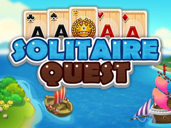 Bild zu HTML5-Spiel Solitaire Quest