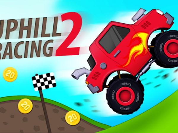 Bild zu Denken-Spiel Up Hill Racing 2