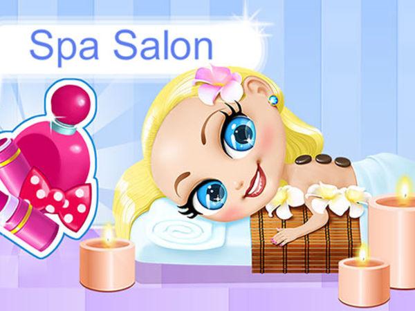 Bild zu Mädchen-Spiel Spa Salon