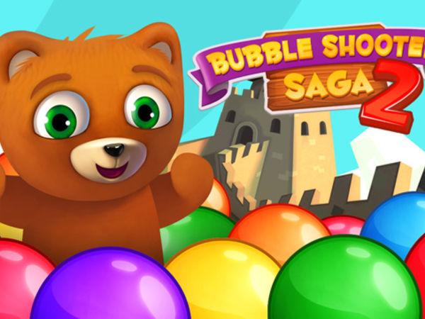 Bild zu Geschick-Spiel Bubble Shooter Saga 2