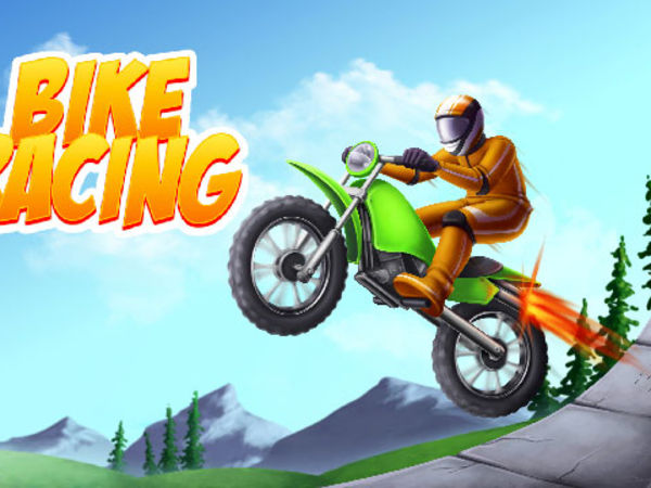 Bild zu Geschick-Spiel Bike Racing