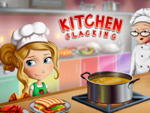 Bild zu Mädchen-Spiel Kitchen Slacking