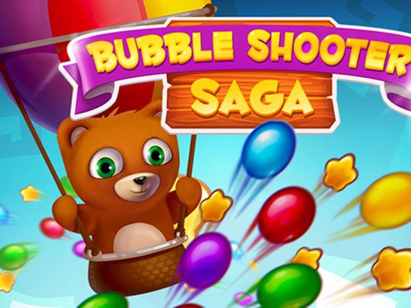 Bild zu Geschick-Spiel Bubble Shooter Saga