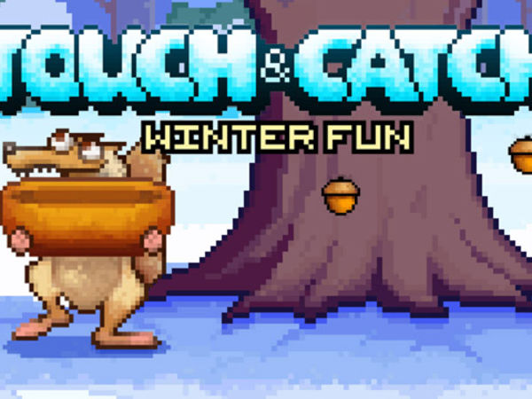 Bild zu Geschick-Spiel Touch and Catch - Winter Fun