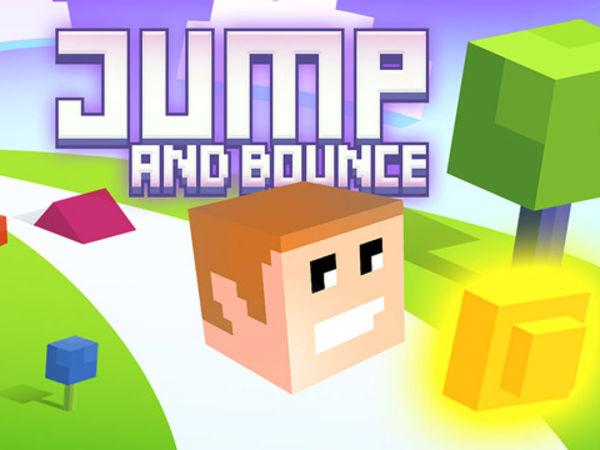 Bild zu Geschick-Spiel Jump and Bounce