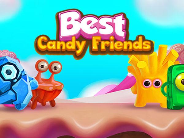 Bild zu Mädchen-Spiel Best Candy Friends