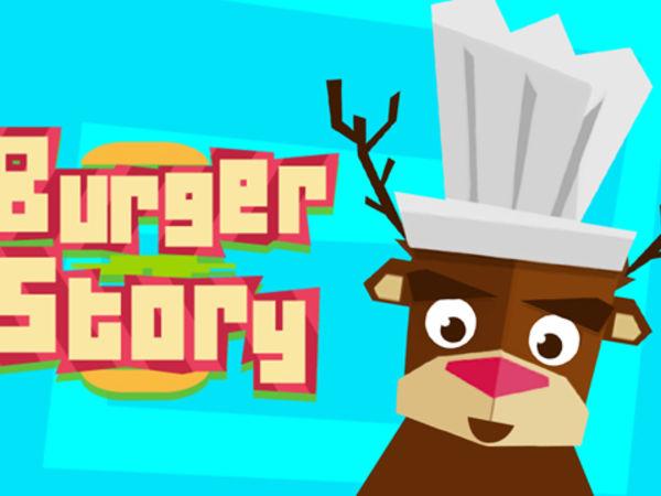 Bild zu Mädchen-Spiel Burger Story
