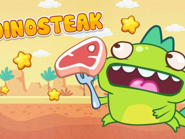 Bild zu HTML5-Spiel Dino Steak