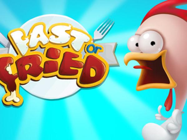 Bild zu Action-Spiel Fast or Fried
