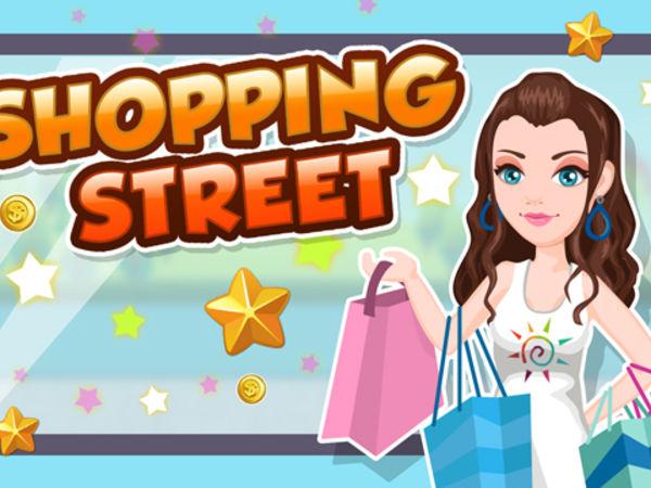 Bild zu Mädchen-Spiel Shopping Street
