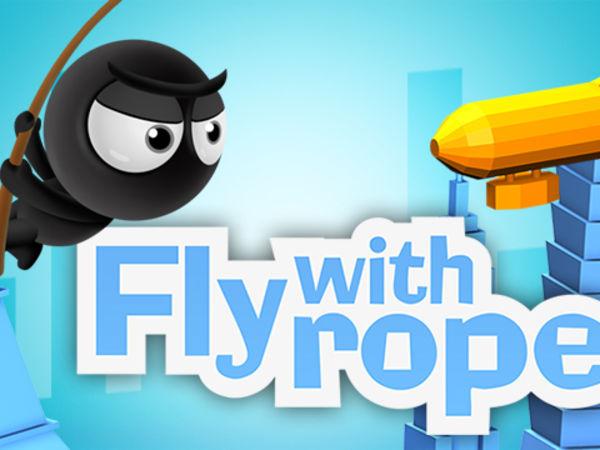 Bild zu Action-Spiel Fly with Rope