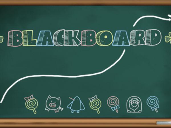 Bild zu Denken-Spiel Blackboard