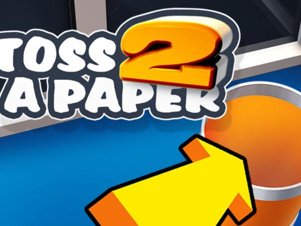 Bild zu Klassiker-Spiel Toss a Paper 2