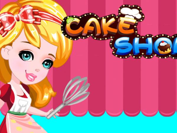 Bild zu Mädchen-Spiel Cake Shop