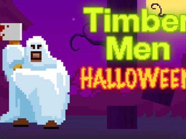 Bild zu Geschick-Spiel Timbermen Halloween
